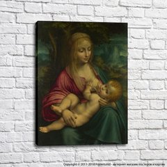 Follower of Leonardo da Vinci The Virgin and Child