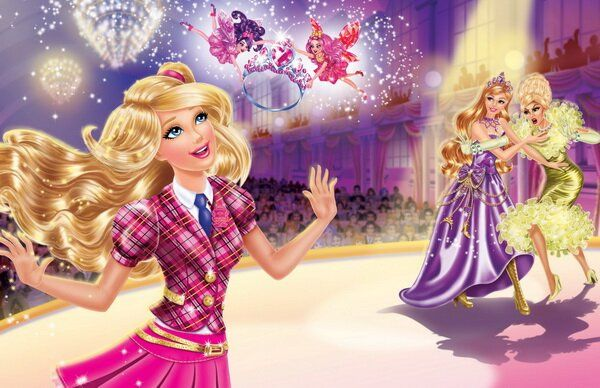 Фотообои Барби и корона, Академия принцесс - Posters.md ...