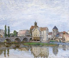 Moret-sur-Loing, Grey Weather, 1892