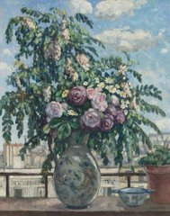 The Bouquet (View from the Artist`s Studio), 1910