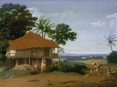 Brazilian Landscape with a Workers House