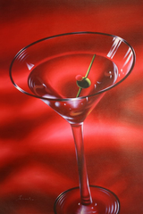 Martini in Red