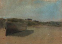 Boat on the Sand, 1869