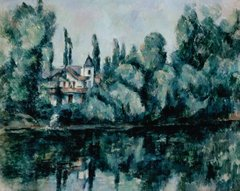 The Banks of the Marne (Villa on the Bank of a River)