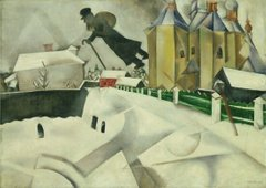 Over Vitebsk, Marc Chagall