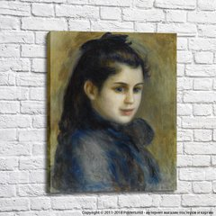 Pierre Auguste Renoir The Head of Young Girl, 1875