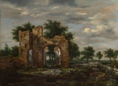 A Ruined Castle Gateway