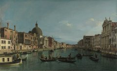 Venice - The Grand Canal with S. Simeone Piccolo