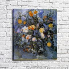 Vase of Flowers, Cezanne
