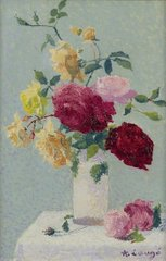 Vase with Roses, 1921