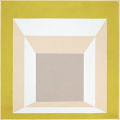 Study for Homage to the Square Stucco Setting, Йозеф Альберс , (Josef Albers)