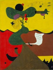 Portrait of Mistress Mills in 1750, Жоан Миро?, (Joan Miro)