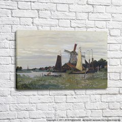 Windmill at Zaandam, 1871 02