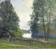 The Banks of the River Loing, 1896