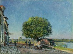 The Chestnut Tree at Saint-Mammes, 1880