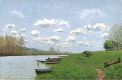 The Seine at Argenteuil, 1870