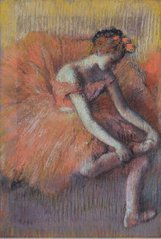 The Dancer Taking off the Sandale, 1896