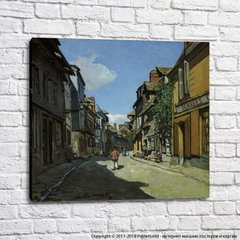 The Street of Bavolle at Honfleur, 1864 01