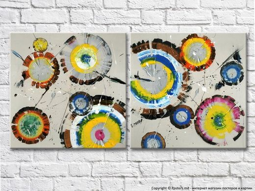 modern-abstract-painting-colored-circles-painted